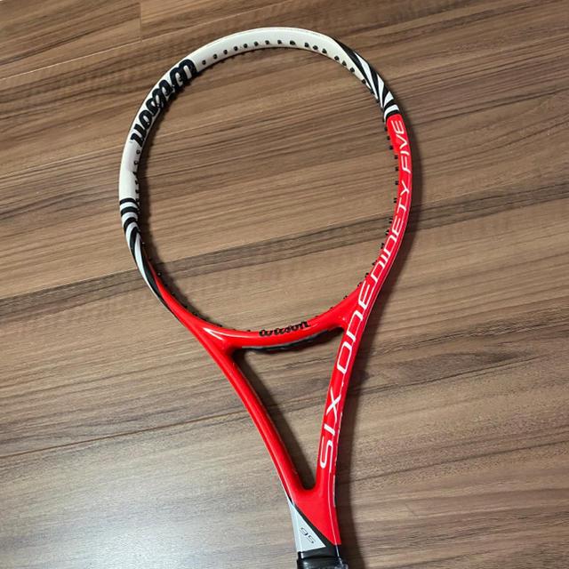 wilson(ウィルソン)のWilson six.one95 Wilsonラケットケース付き スポーツ/アウトドアのテニス(ラケット)の商品写真