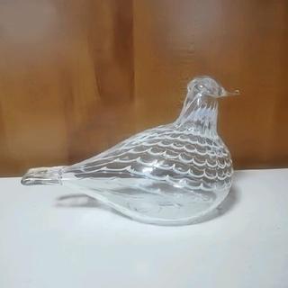 イッタラ(iittala)のイッタラ バード Mediator Dove クリア ガラス オブジェ 北欧(ガラス)