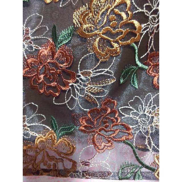 Stola.(ストラ)の【美品】ストラ 花柄 スカート 38 レディースのスカート(ひざ丈スカート)の商品写真