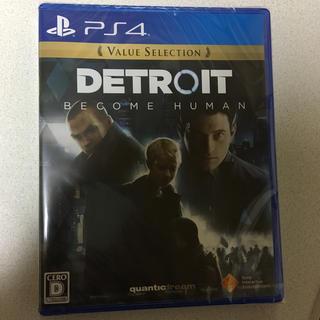 プレイステーション4(PlayStation4)のあきゆう様専用出品 新品未使用 Detroit: Become Human(家庭用ゲームソフト)