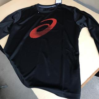アシックス(asics)のasics LSトップ 2031A426 サイズ:XL ブラック(Tシャツ/カットソー(七分/長袖))