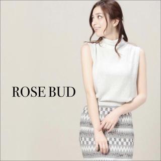 ROSE BUD - ROSE BUD ハイネック ノースリーブ トップス♡トップスショップ ZARA