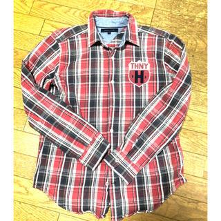 トミーヒルフィガー(TOMMY HILFIGER)のTOMMY HILFIGER(トミーヒルフィガー) 赤チェックシャツ(シャツ)