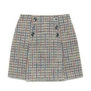 リリーブラウン(Lily Brown)のlily brown ツイードスカート(ミニスカート)