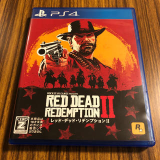 プレイステーション4(PlayStation4)のレッド・デッド・リデンプション2 PS4 美品です(家庭用ゲームソフト)