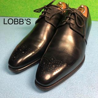 ロブス(LOBBS)のLOBB'S ロブス プレーントゥ メダリオン シューズ イタリア製(ドレス/ビジネス)
