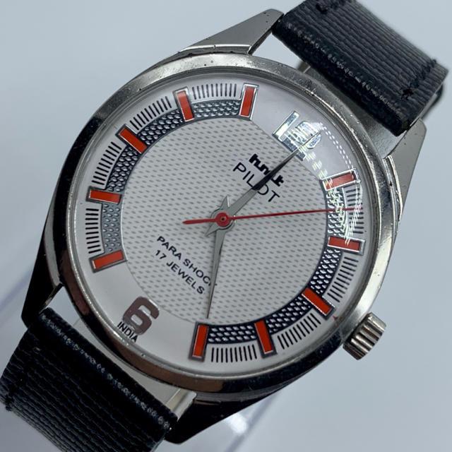 パネライ コピー 通販 | ORIS - 激レア美品◆HMT PILOT /70's/ヴィンテージ腕時計/手巻きウォッチの通販