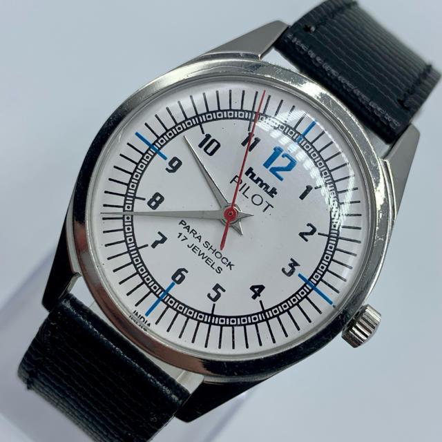 ロレックス コピー 品販売 / ORIS - 激レア美品◆HMT PILOT /70's/ヴィンテージ腕時計/手巻きウォッチの通販