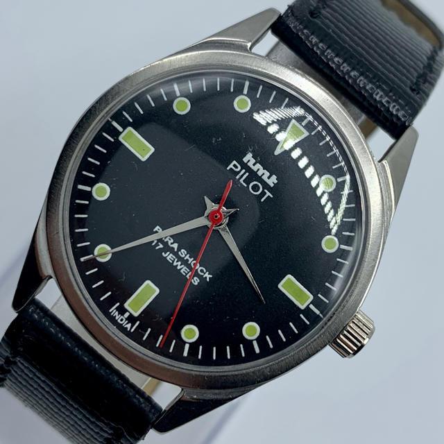 ブルガリ コピー 評判 、 ORIS - 激レア美品◆HMT PILOT /70's/ヴィンテージ腕時計/手巻きウォッチの通販
