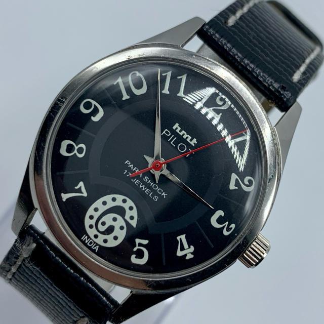 ユンハンス コピー 正規取扱店 - ORIS - 激レア美品◆HMT PILOT /70's/ヴィンテージ腕時計/手巻きウォッチの通販