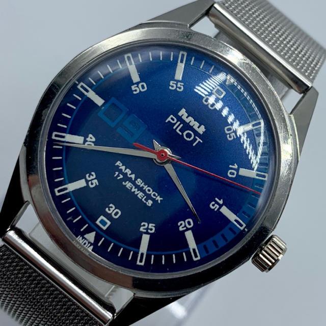 スーパーコピー 時計 ロレックス | ORIS - 激レア美品◆HMT PILOT /70's/ヴィンテージ腕時計/手巻きウォッチの通販