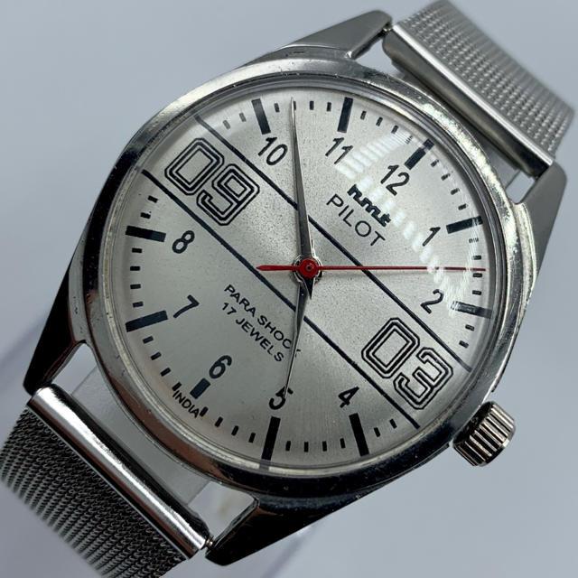 オリス コピー 税関   ORIS - 激レア美品◆HMT PILOT /70's/ヴィンテージ腕時計/手巻きウォッチの通販