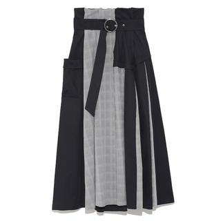 ファーファー(fur fur)の[新品・未使用]FURFUR スカート(ひざ丈スカート)