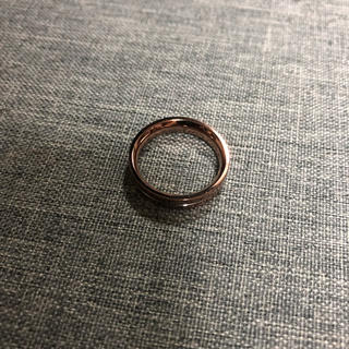 vie イニシャル入り ステンレスリング  9号(リング(指輪))