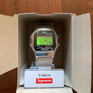 supreme timex シルバー 新品 原宿店購入品