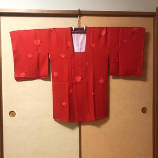 ミツコシ(三越)の着物 道行コート 三越 正絹(着物)
