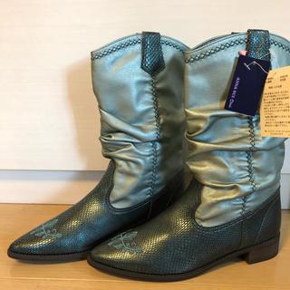 アナスイミニ(ANNA SUI mini)の値下げ❗️新品 ANNA SUI mini アナスイミニ 23  (ブーツ)