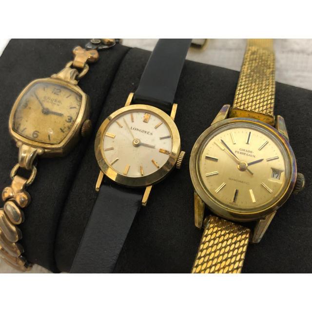 ロレックス スーパー コピー 時計 北海道 、 GIRARD-PERREGAUX - ジラールペルゴ ロンジン グリュエン 自動巻き 手巻き SS 時計 計3点の通販