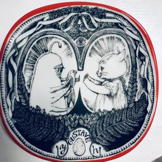 アチャチュムムチャチャ(AHCAHCUM.muchacha)の【新品・未使用】九谷焼・絵皿 小春とひとつめちゃん(食器)