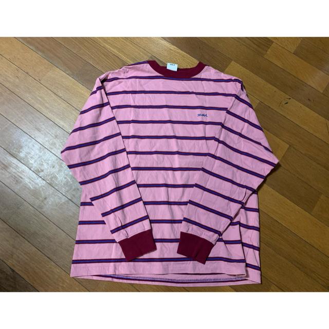 X-girl(エックスガール)のエックスガール STRIPED L/S TEE レディースのトップス(Tシャツ(長袖/七分))の商品写真
