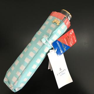 ランバンオンブルー(LANVIN en Bleu)の新品タグ付き LANVIN ランバン オンブルー 折りたたみ傘 (傘)