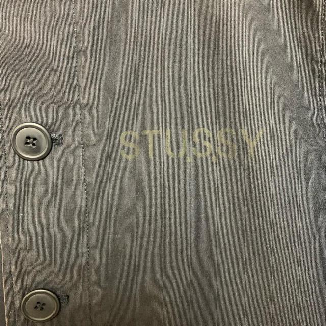 STUSSY(ステューシー)の【stussy】ブルゾン ネイビー(※内側に中綿有) メンズのジャケット/アウター(ブルゾン)の商品写真