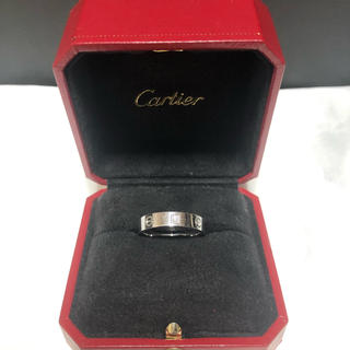 Cartier - カルティエ ラブリング ダイヤ入り21号 WG