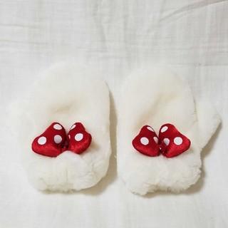 Disney - ディズニーリゾート ミニー ミトン  手袋