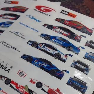ホンダ(ホンダ)の【送料込】Honda Racing スーパーGTステッカーシート2枚(その他)