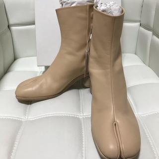 エムエムシックス(MM6)の未使用品!マルジェラ 足袋ブーツ ベージュ 42(ブーツ)