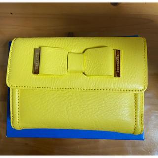 バーバリーブルーレーベル(BURBERRY BLUE LABEL)のブルーレーベル二つ折り財布 牛革(財布)