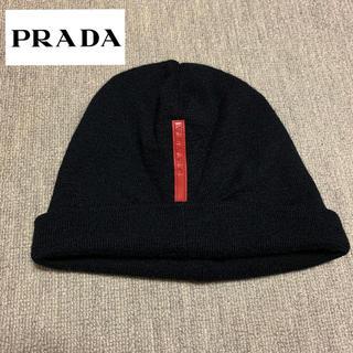 プラダ(PRADA)のPRADA SPORT ニット帽 ニットキャップ ビーニー(ニット帽/ビーニー)