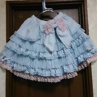 アンジェリックプリティー(Angelic Pretty)のAngelic Pretty 水色 スカート(ミニスカート)