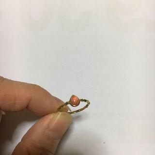 アガット(agete)のアガット  K 14 ピンキーリング 7号(リング(指輪))