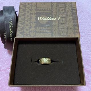 ハワイアンジュエリー Wailea イエロー  小指 指輪(リング(指輪))