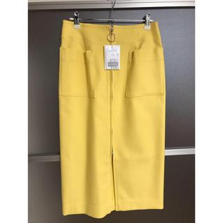 ノーブル(Noble)のノーブル スカート 新品、タグ付き❤️(ひざ丈スカート)