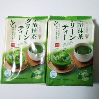 【momo様専用】三井銘茶 宇治抹茶 グリーンティー 2袋(16本)(茶)