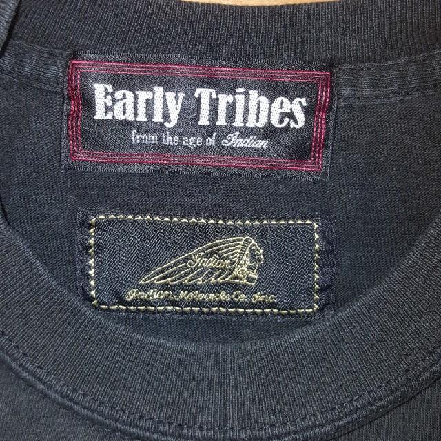 Indian(インディアン)のインディアンモーターサイクル ロンT メンズのトップス(Tシャツ/カットソー(七分/長袖))の商品写真