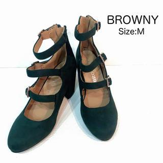ブラウニー(BROWNY)の【新品未使用品】BROWNY サンダル(サンダル)