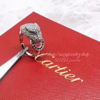 カルティエ(Cartier)の最新作✨ユニセックスリング✨最高級AAA級czダイヤモンド✨カルティエ好きに♥(リング(指輪))
