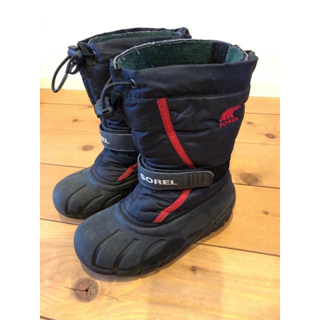 SOREL(ソレル)のSOREL キッズ19㎝ スノーブーツ キッズ/ベビー/マタニティのキッズ靴/シューズ(15cm~)(ブーツ)の商品写真