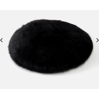 アズールバイマウジー(AZUL by moussy)の新品未開封 アズールバイマウジー シャギーベレー帽(ハンチング/ベレー帽)