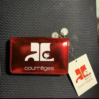 クレージュ(Courreges)のハローキティ クレージュ コラボ カードケース☆入手困難・レア☆新品・未使用(財布)