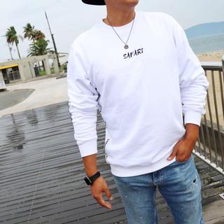 ルーカ(RVCA)のInstagramで人気☆LUSSO SURF カリフォルニア スウェット L(スウェット)