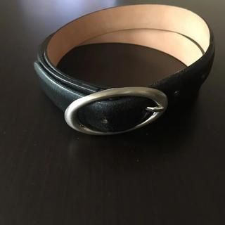ユナイテッドアローズ(UNITED ARROWS)の定価13800円  ユナイテッドアローズ  本革  ブラック  80cm(ベルト)