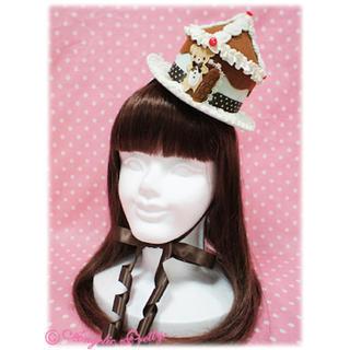 アンジェリックプリティー(Angelic Pretty)のAngelic pretty Sweet Cream HouseミニHat(その他)