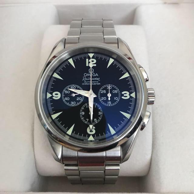 OMEGA - 腕時計 オメガ シーマスター アクアテラ クロノグラフ レイルマスターの通販