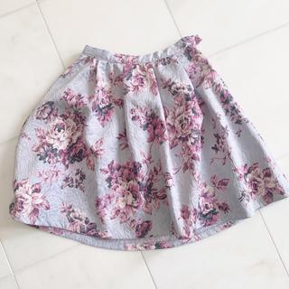 イートミー(EATME)のEATME ♥ 花柄スカート ♥ 美品(ひざ丈スカート)