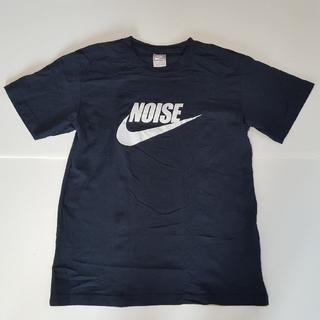 ナイキ(NIKE)のMサイズ fragment design × NIKE NOISE TEE 紺(Tシャツ/カットソー(半袖/袖なし))