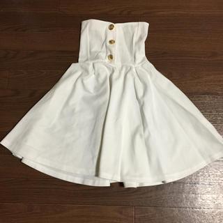 ハイウエストスカート(ひざ丈スカート)